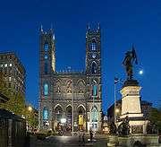 montreal.notre-dame bazilikası.old montreal içinde.1