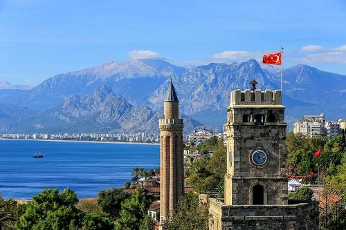Antalya, Şehir içi Gezi Planı