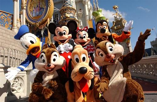 Fransa, Paris, Disneyland, Eurodisney